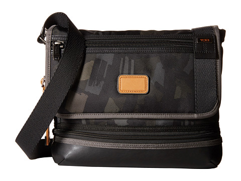 Tumi - Alpha Bravo - Beale Crossbody (Grey/Camo) Cross Body Handbags