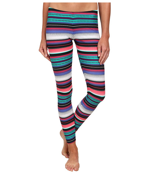 Roxy - Livin' Free Surf Leggings (Teal) Women's Swimwear