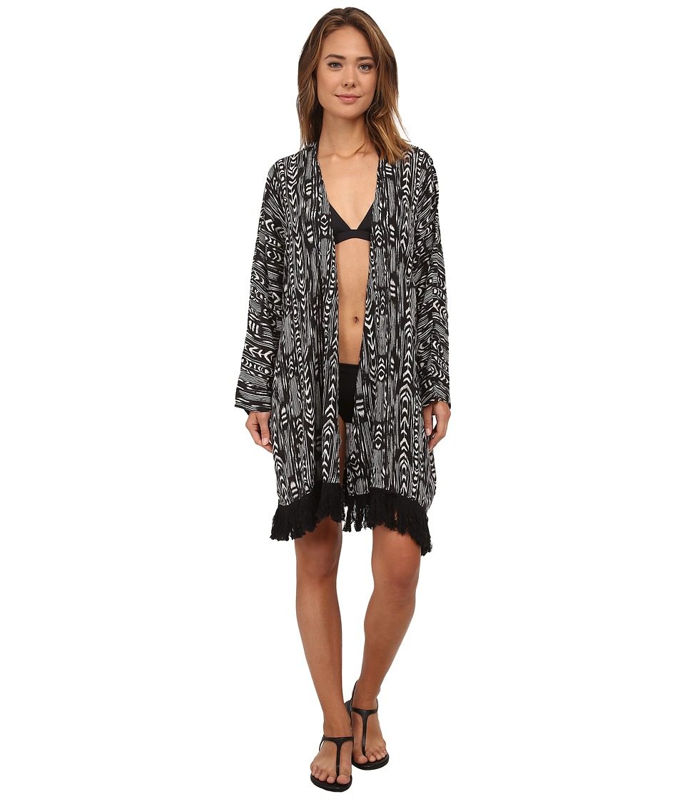Roxy - Essentials Cover-Up (True Black) Women's Swimwear