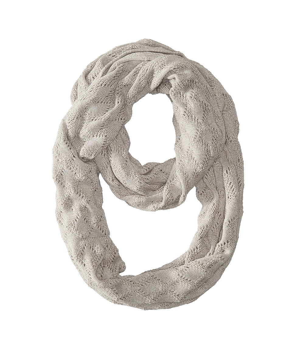 Echo Design - Msoft Pointelle Infinity Ring (Light Grey Heather) Scarves