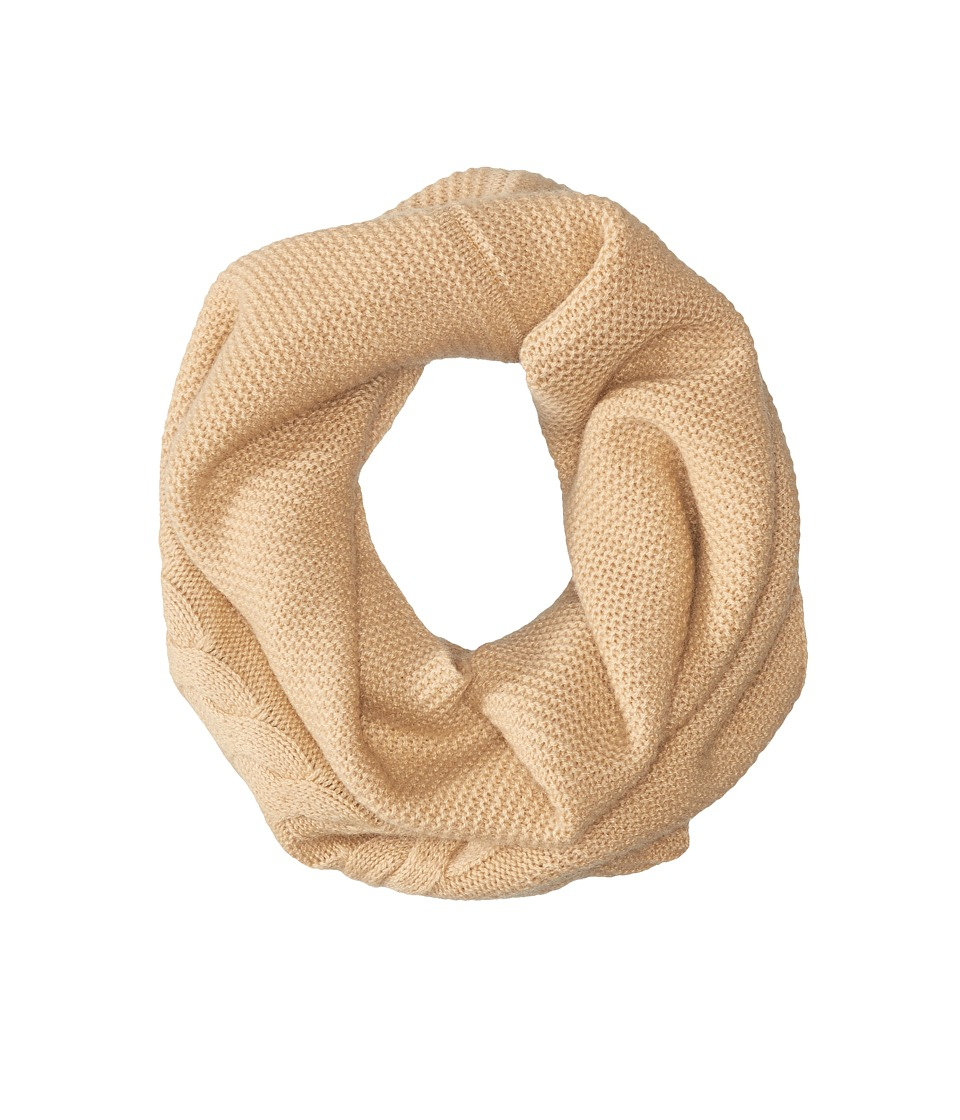 Echo Design - Msoft Pointelle Infinity Ring (Oatmeal Heather) Scarves