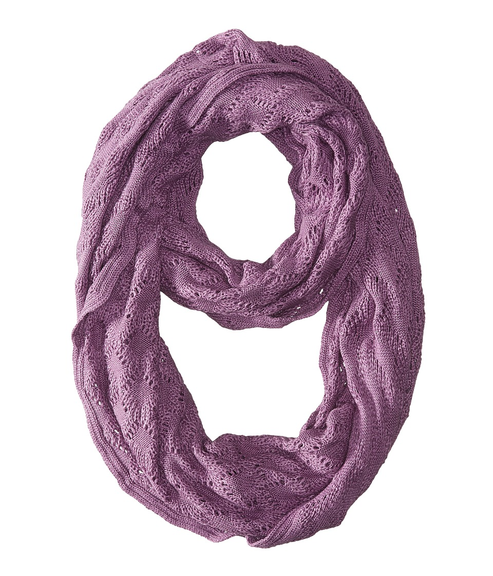 Echo Design - Msoft Pointelle Infinity Ring (Viola Heather) Scarves