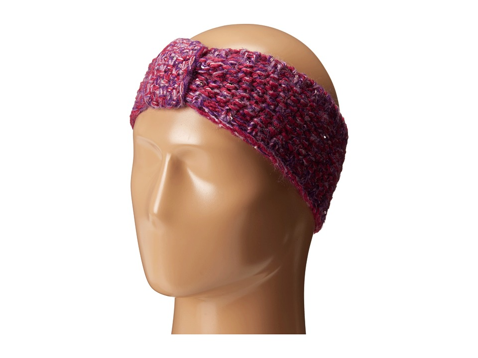Echo Design - Glimmer Bow Headband (Berry) Headband