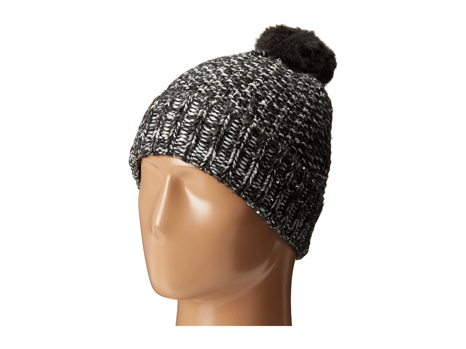 Echo Design - Glimmer Slouchy Hat (Light Grey Heather) Snow Hats