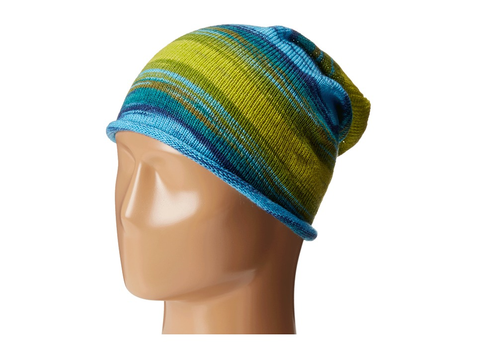 Echo Design - Watercolor Slouchy Hat (Ultra Marine) Cold Weather Hats
