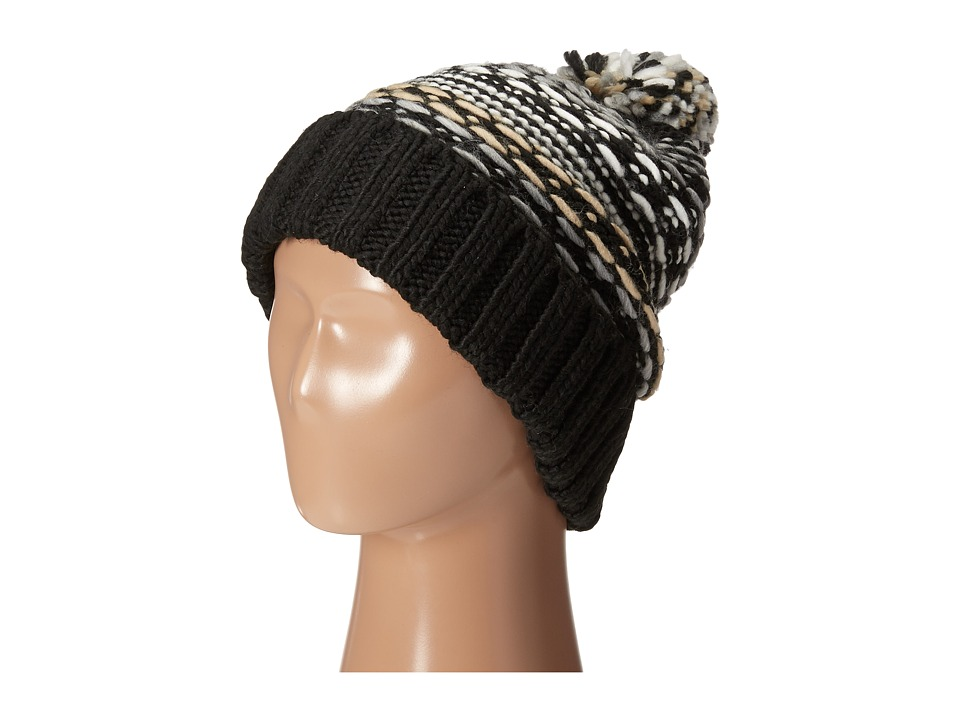 Echo Design - Float Stitch Pom Hat (Black) Cold Weather Hats