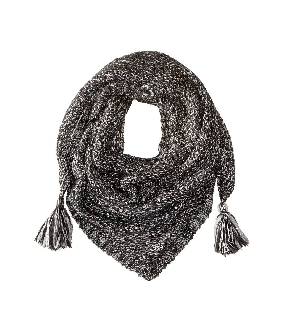 Echo Design - Glimmer Triangle Scarf (Light Grey Heather) Scarves