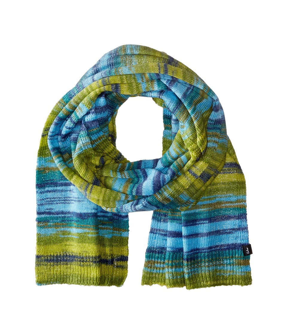 Echo Design - Watercolor Long Muffler (Ultra Marine) Scarves