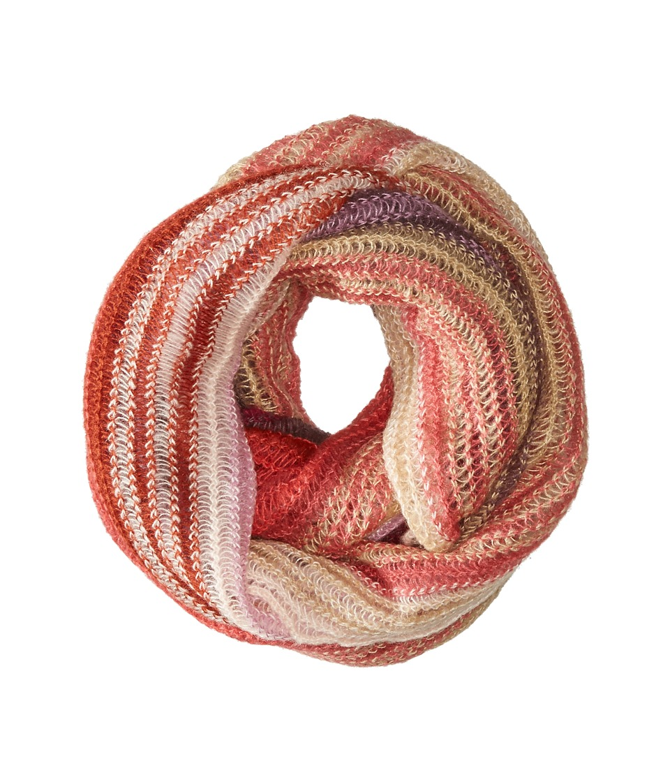 Echo Design - Ombre Stripe Infinity Ring (Berry) Scarves