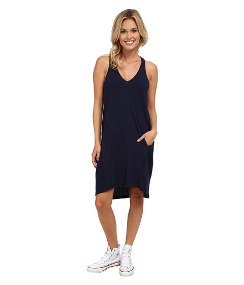 Roxy - Yachta Yachta Dress (Peacoat) Women