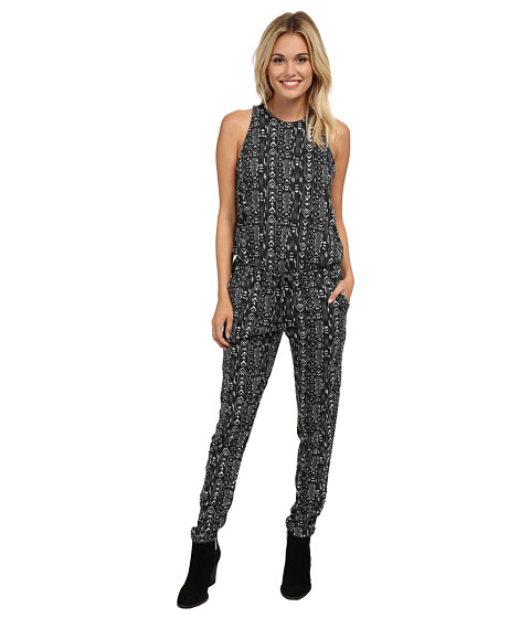 Roxy - Tuna Or Later Romper (True Black) Women's Jumpsuit & Rompers One Piece