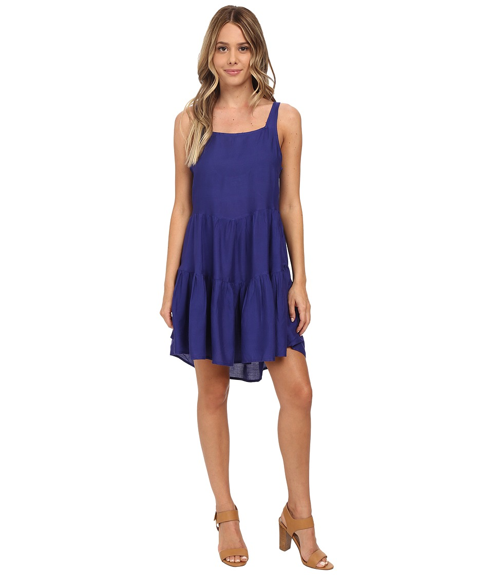 Roxy - June Bloom Dress (Spectrum Blue) Women