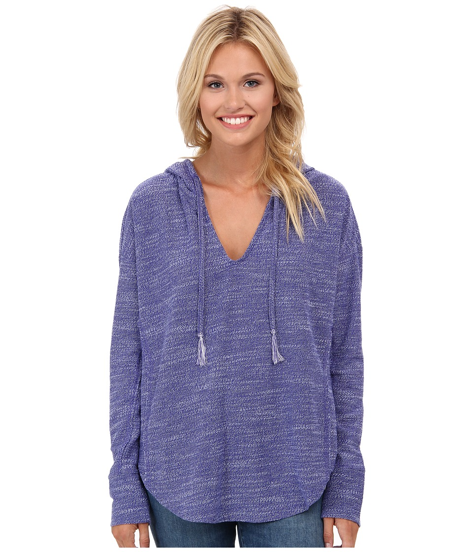 Roxy - Seascape Surf Hoodie (Seascape Stripe Spectrum Blue) Women's Sweatshirt