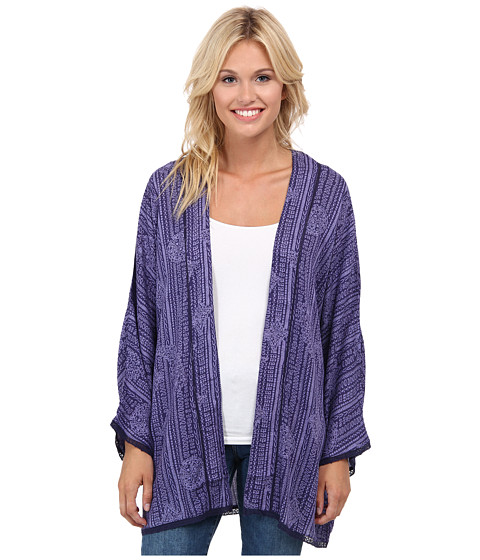 Roxy - Luna Kimono (Light Denim) Women's Clothing