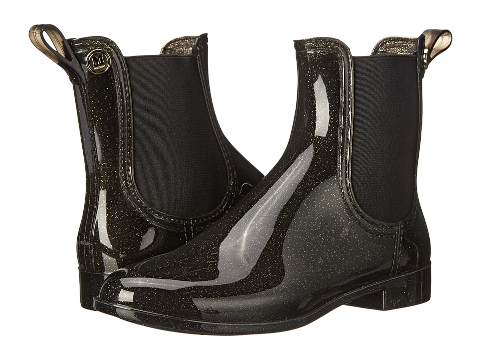 M Missoni - Sparkly Rain Boot (Black) Women's Rain Boots