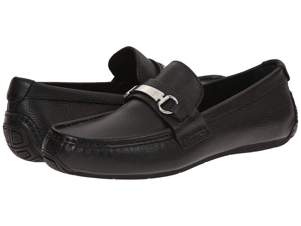Cole Haan - Somerset Bit II (Black Tumbled) Men's Shoes