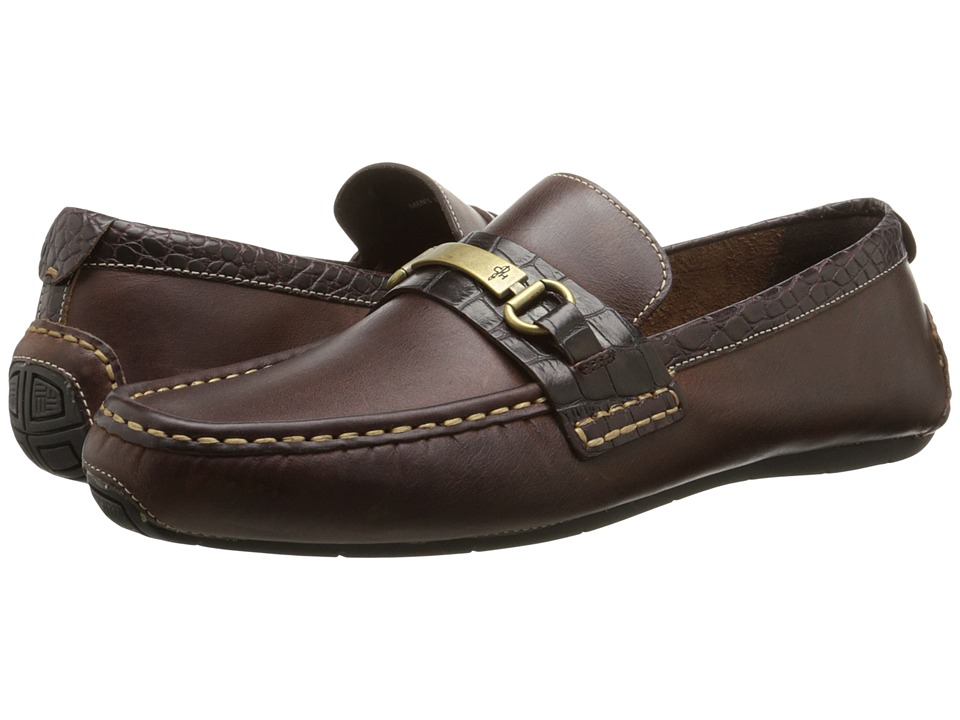 Cole Haan - Somerset Bit II (Dark Brown Croc Print) Men's Shoes