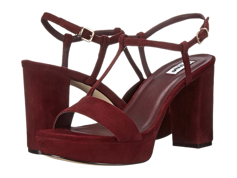 Dune London - Jilly (Burgundy Suede) Women's Shoes