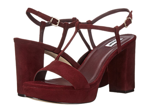 Dune London - Jilly (Burgundy Suede) Women