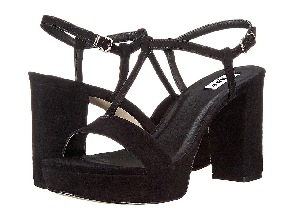 Dune London - Jilly (Black Suede) Women's Shoes