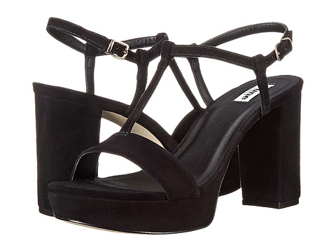 Dune London - Jilly (Black Suede) Women's Shoes