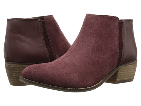 Dune London - Penelope (Burgundy Suede) Women