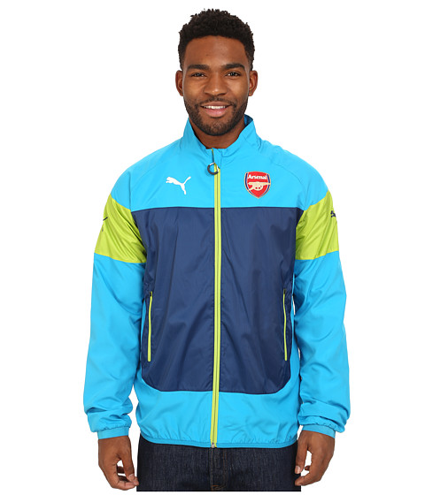 PUMA - AFC Leisure Jacket (Methyl Blue/Estate Blue) Men's Coat