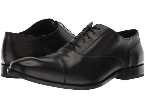 Cole Haan - Williams Cap Toe II (Black) Men's Shoes