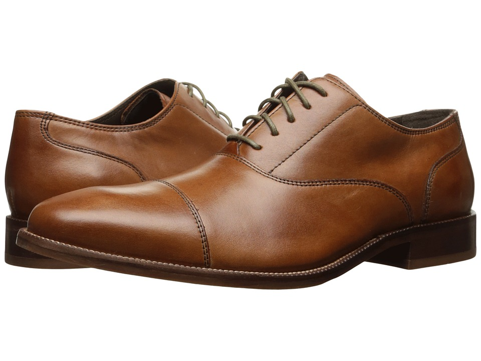 Cole Haan - Williams Cap Toe II (British Tan) Men's Shoes