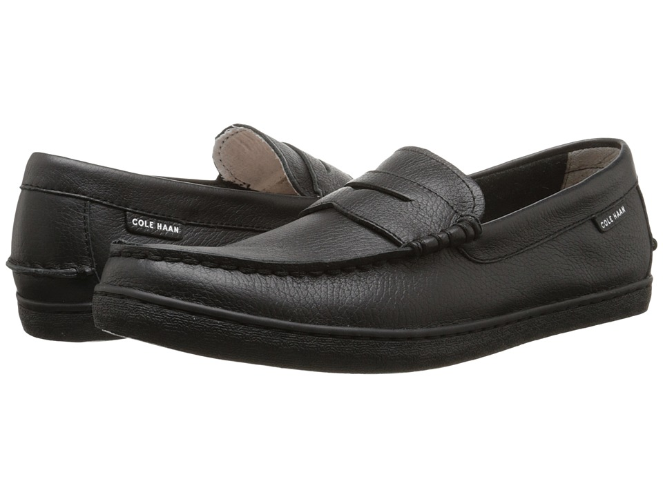 Cole Haan - Nantucket Loafer II (Black/Black Leather) Men's Slip on Shoes