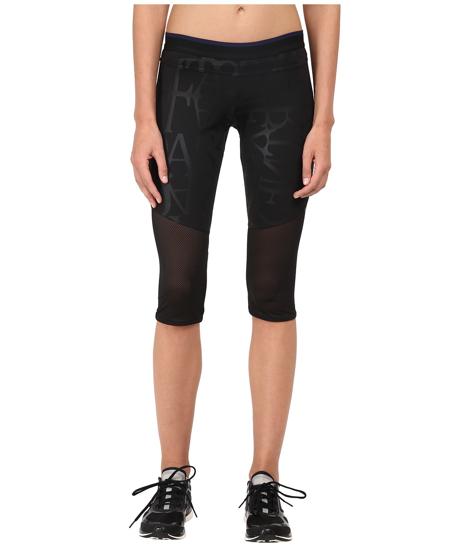 adidas by Stella McCartney - Run 3/4 Tights AA7584 (Black) Women's Workout