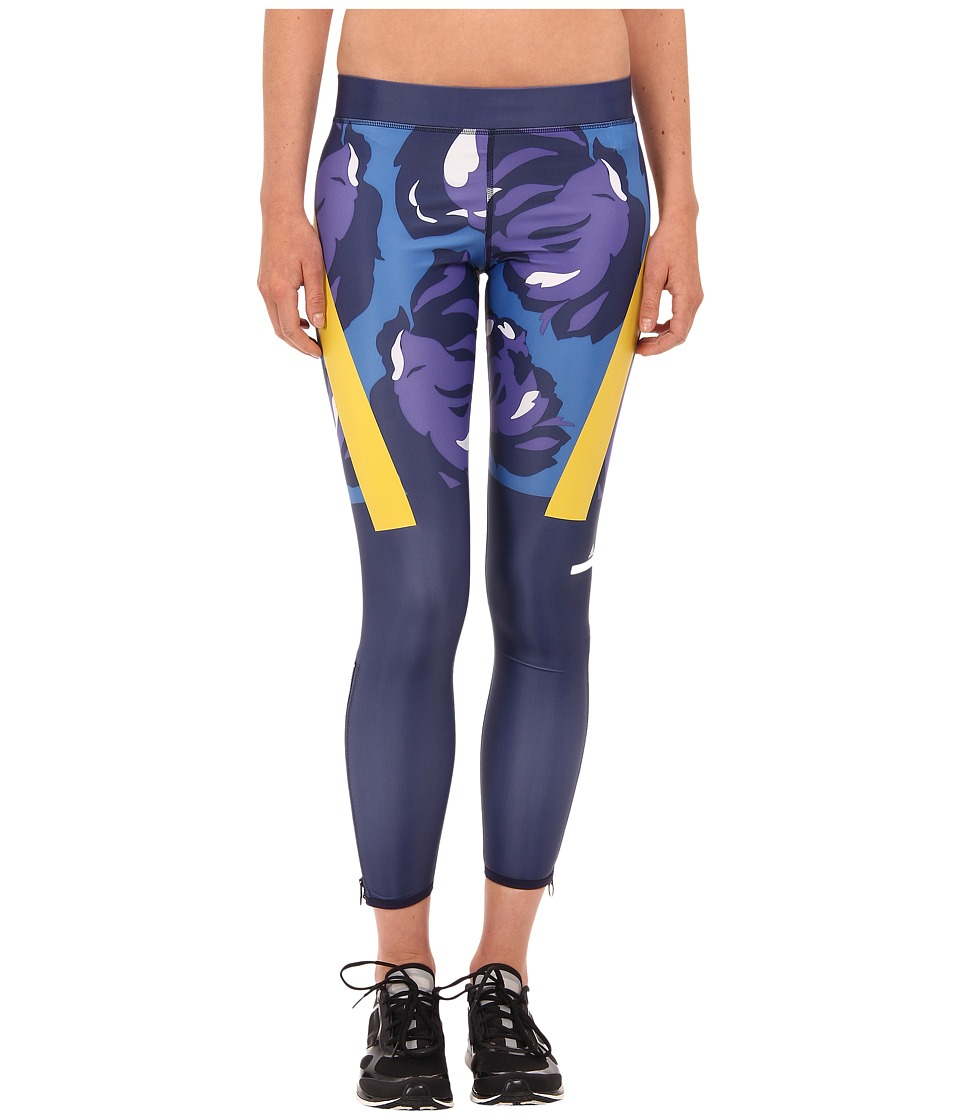 adidas by Stella McCartney - Techfit Tights AA7471 (Ink Navy) Women's Workout plus size,  plus size fashion plus size appare