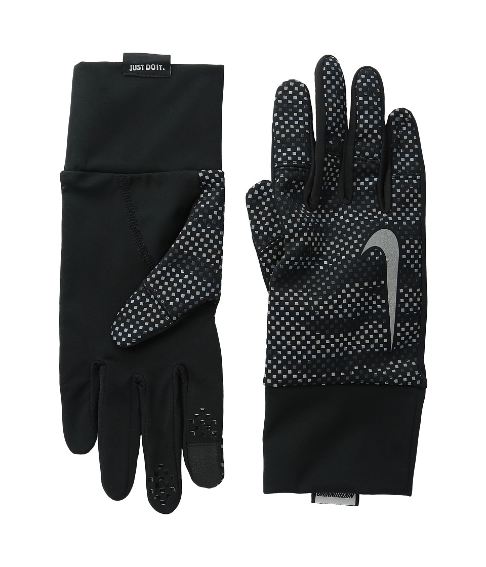 Nike - Vapor Flash 2.0 Run Gloves (Anthracite/Black) Cycling Gloves