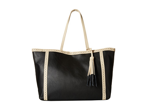 Big Buddha - Andie (Black/Bone) Tote Handbags