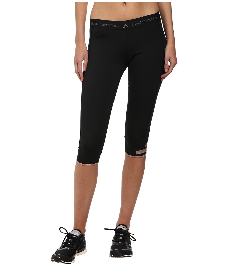 adidas by Stella McCartney - The 3/4 Tights AA8618 (Black) Women