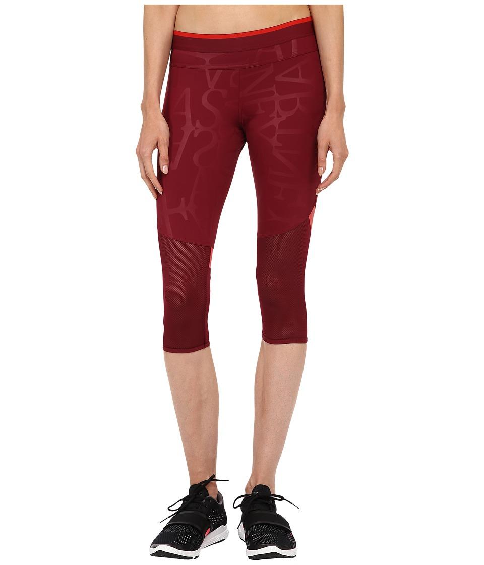 adidas by Stella McCartney - Run 3/4 Tights AA7585 (Dark Wine) Women's Workout