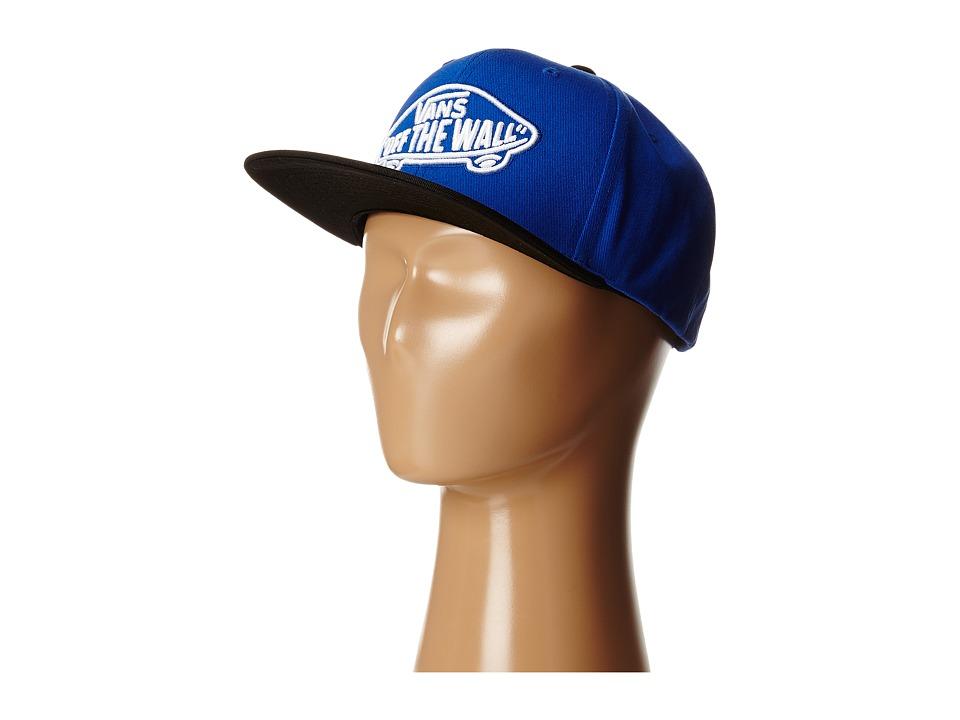 Vans - Home Team Snapback (Big Kids) (Royal/Black) Baseball Caps