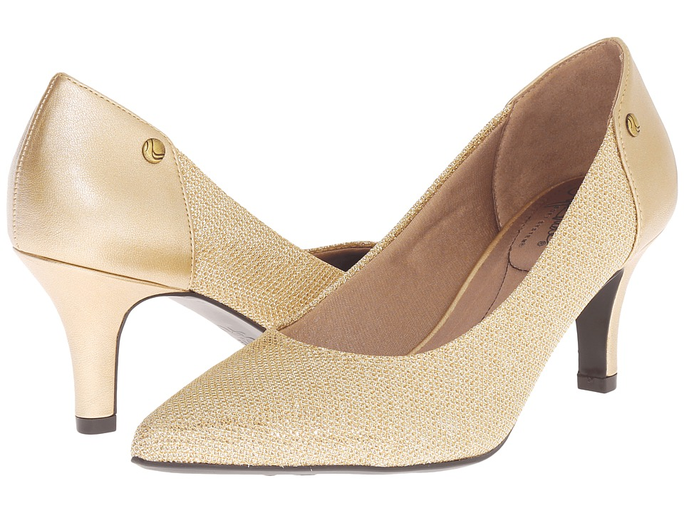 LifeStride - Star Too (Champagne) Women's 1-2 inch heel Shoes