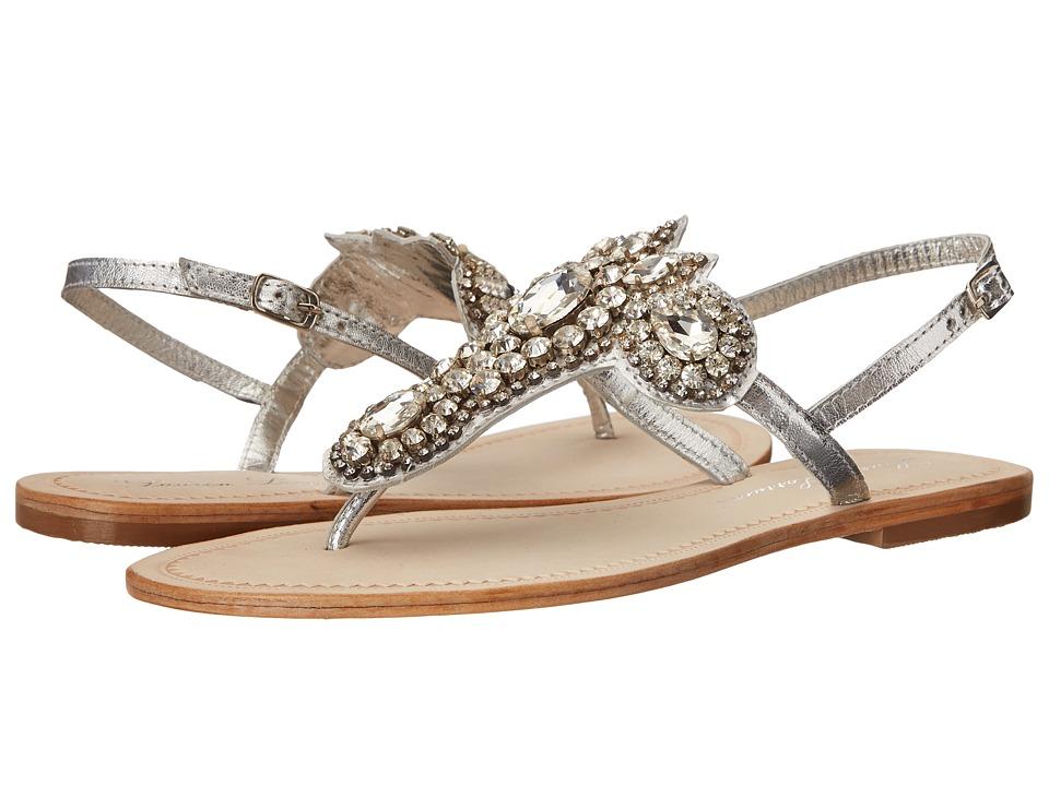 Lauren Lorraine - Ibiza (Silver Straps) Women's Sandals