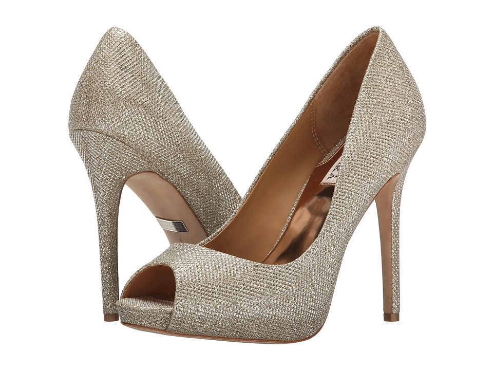 $78.00 More Details · Badgley Mischka - Ponderosa (Latte Diamond Drill  Fabric) High Heels