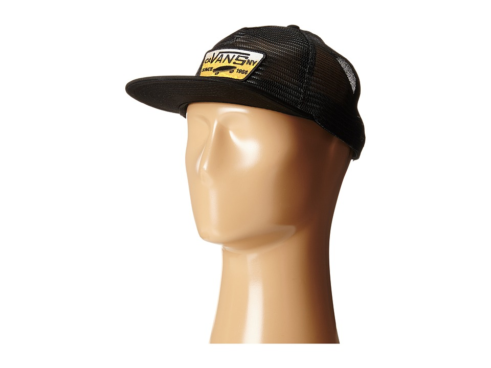 Vans - Malted All Mesh Trucker (Black) Caps