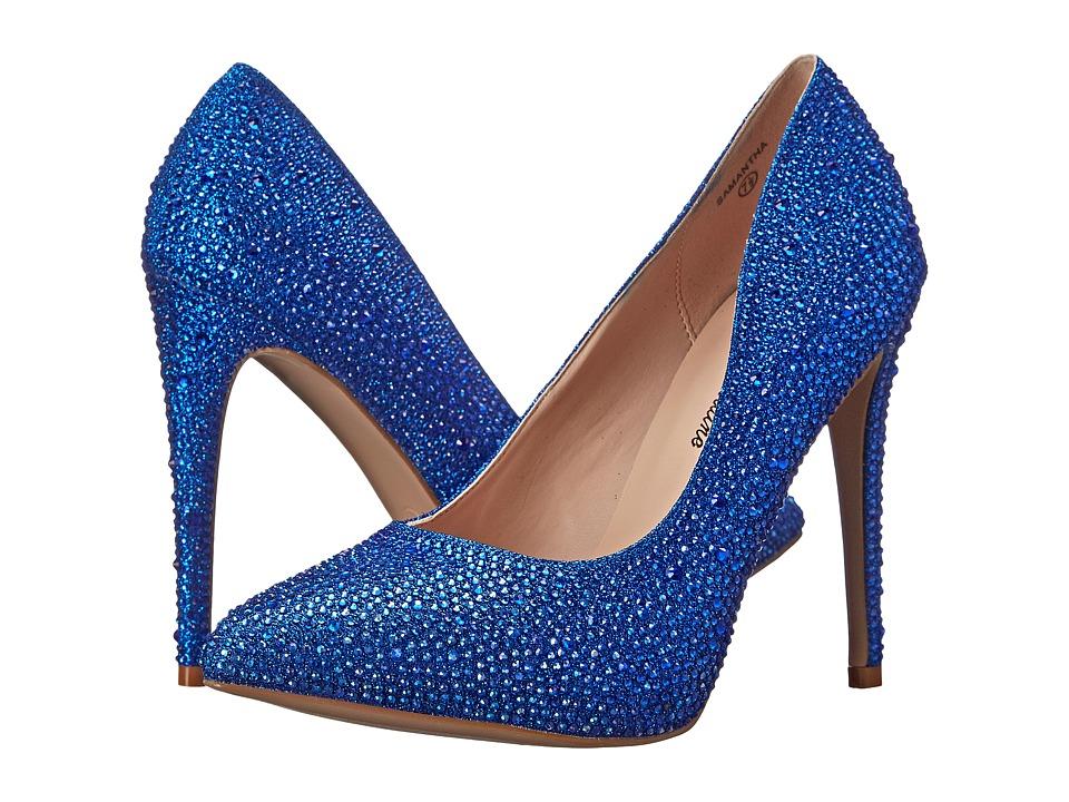 Lauren Lorraine - Samantha (Blue Sparkle) High Heels