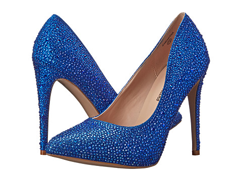 Lauren Lorraine - Samantha (Blue Sparkle) High Heels