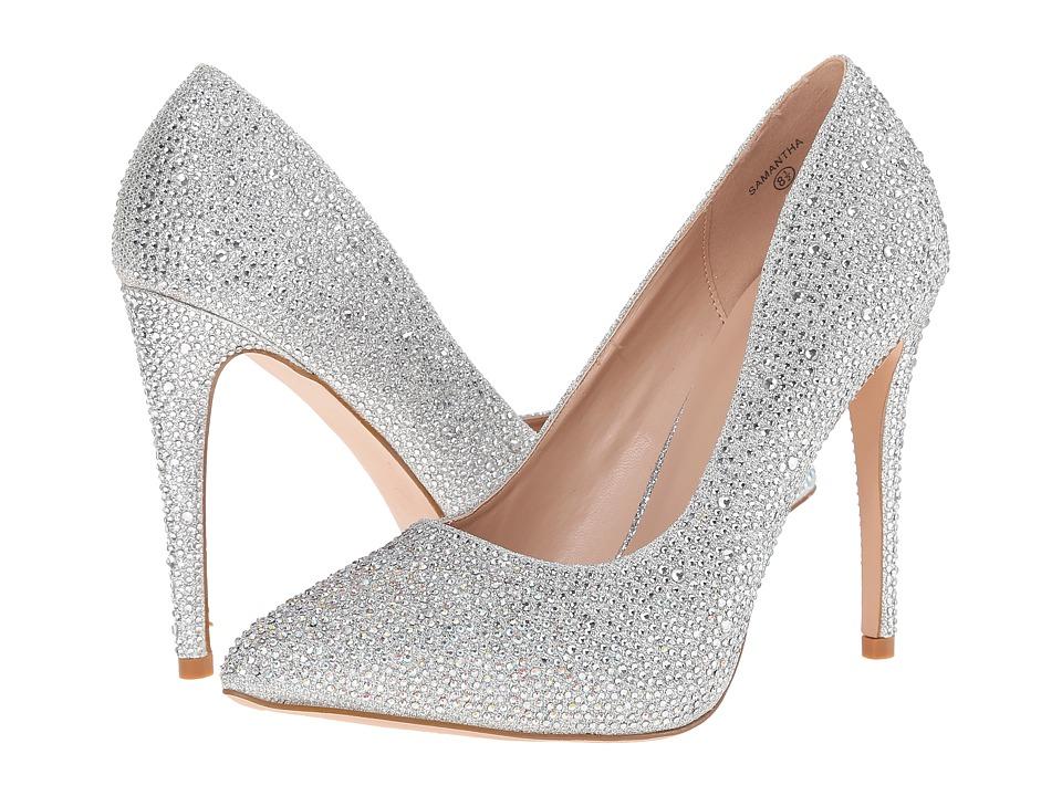 Lauren Lorraine - Samantha (Silver Sparkle) High Heels