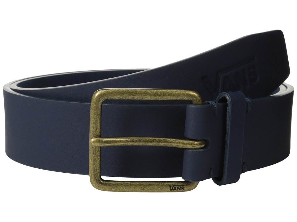 Vans - Hunter PU Belt (Black Iris) Men's Belts