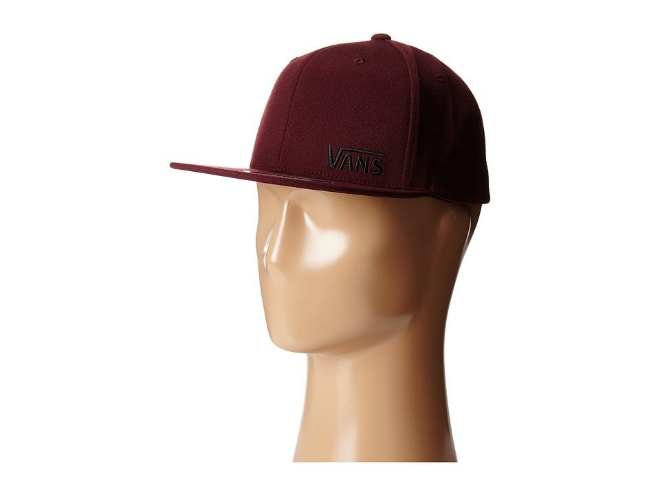 Vans - Splitz Flexfit Hat (Port) Caps