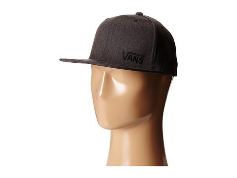 Vans - Splitz Flexfit Hat (Charcoal Heather) Caps