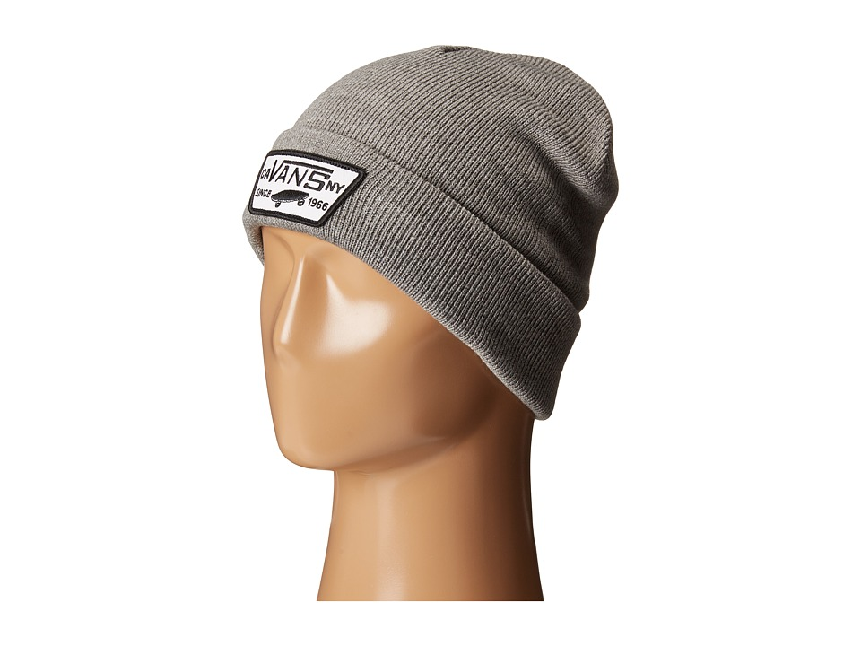 Vans - Milford Beanie (Heather Grey) Beanies