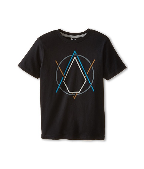 Volcom Kids - Creak In Short Sleeve Tee (Toddler/Little Kids) (Black) Boy's T Shirt