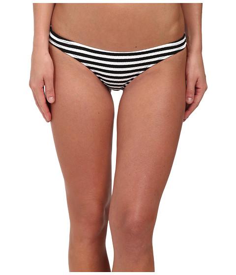 Volcom - Broken Lines Tiny Bottoms (Black) Women's Swimwear